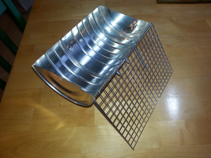 Picture of Cut Grate to Size and Attach