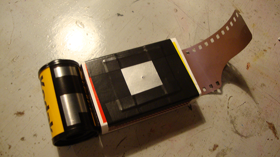 Picture of Matchbox Pin Hole Camera