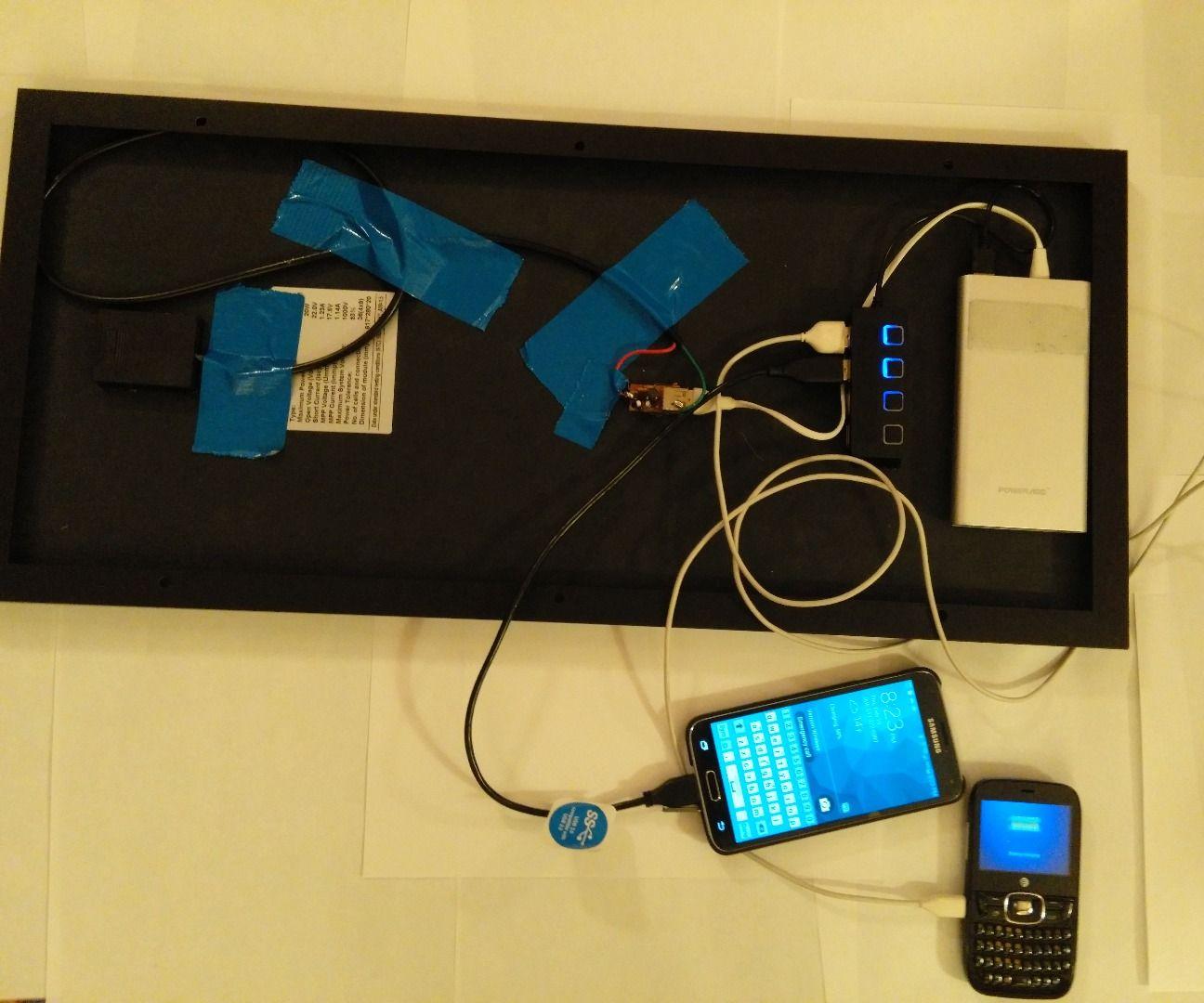 Solar Power for All Usb Gadgets