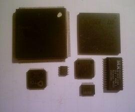How to De-Solder surface mount ICs