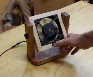Reclaimed Desk Fan