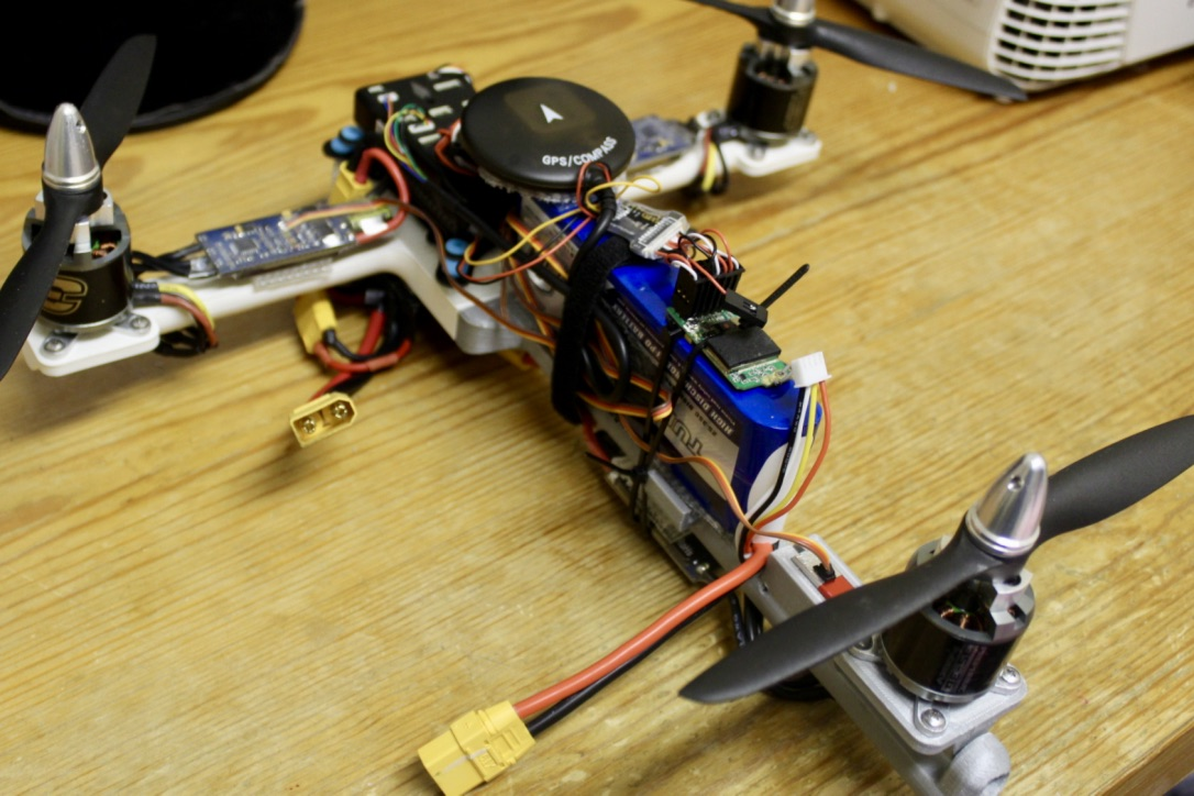 Picture of Wiring the Motors and Electronic Speed Controllers