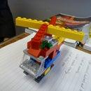 Lego Chopper Instructable