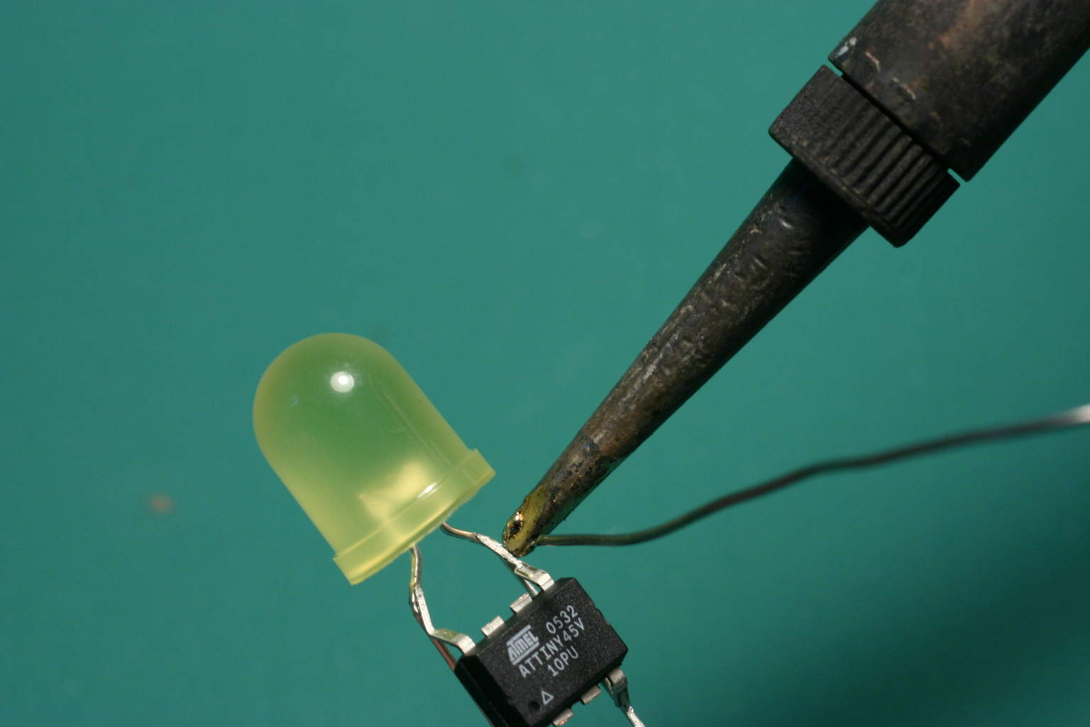 Picture of Solder the Leads