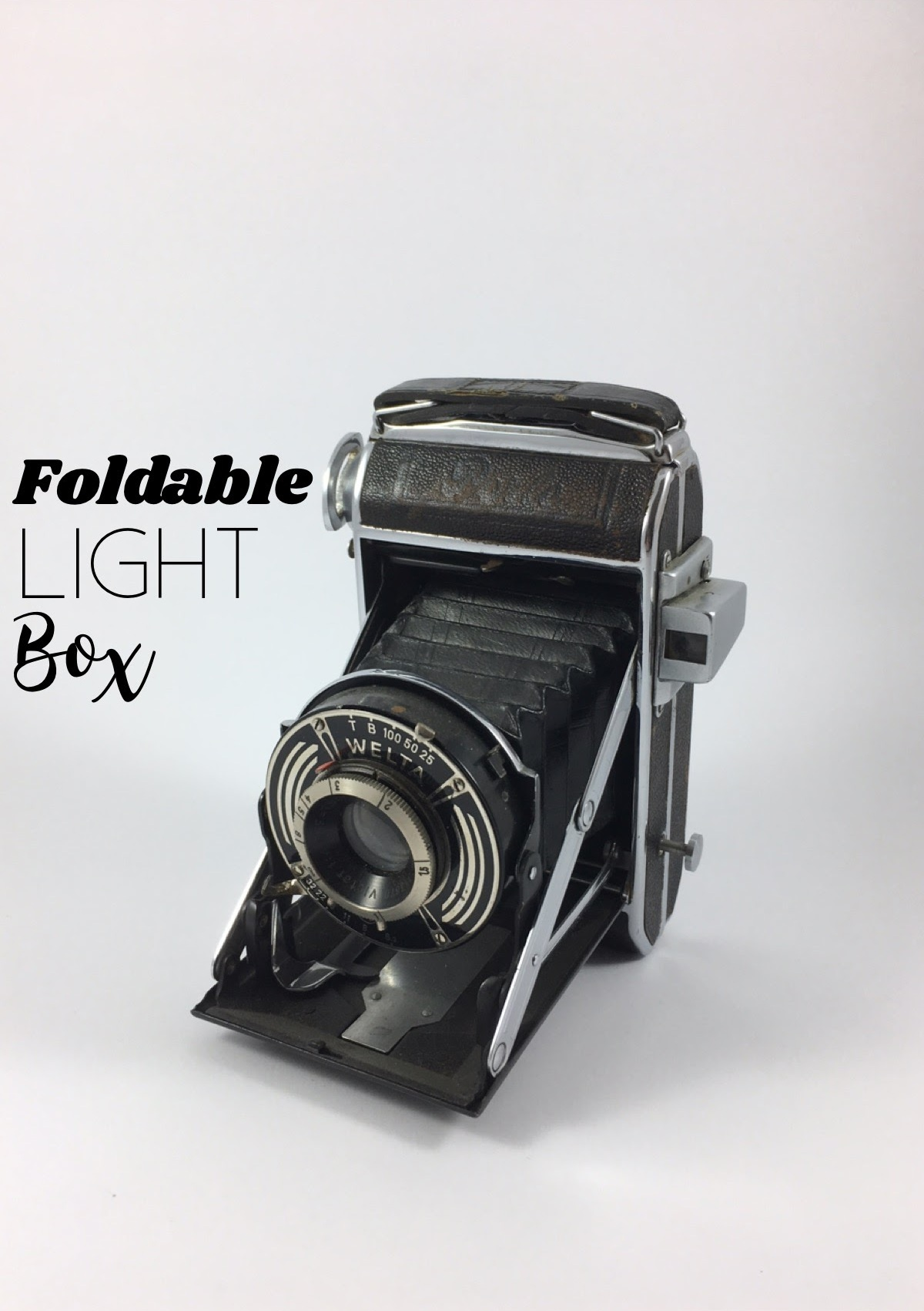 Picture of Foldable Homemade Light Box
