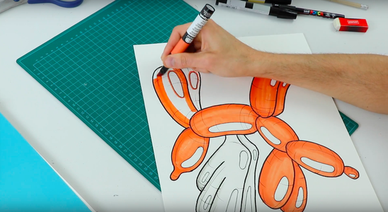 Collect Materials and Draw Your Neon Sign Design