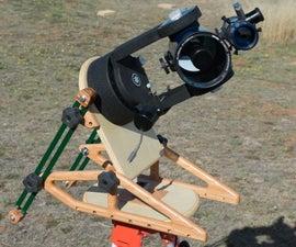 Homemade Tripod Wedge for SCT telescope