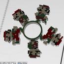8 Bit Mario Animated Fidget Spinner