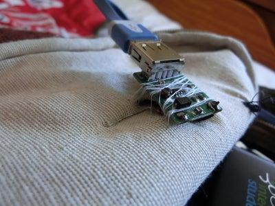 Coser Convertidor Voltage a Mochila