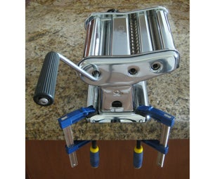 Pasta Machine Replacement Clamp - Use Mini Bar Clamps Instead!