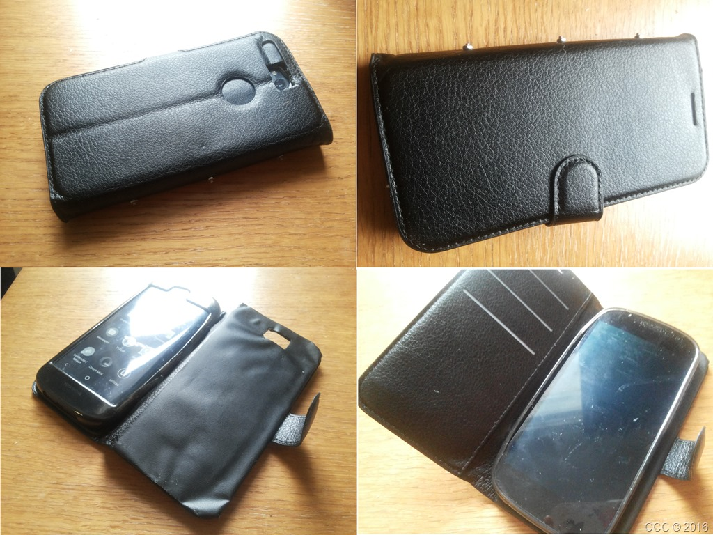 Picture of Create FlipCover for Dual Screen Phone/ Uncommon Phone From Other Phone's Flipcover (No Sew)