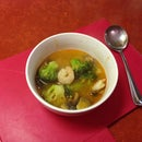 Quick and easy Tom Yum Soup