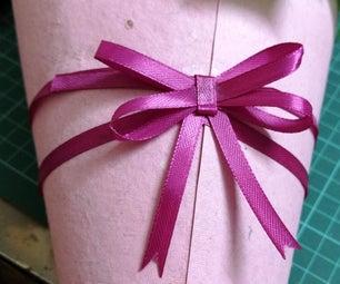 Easy Ribbon Bow (2 Mins! No Sew!)