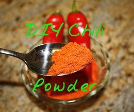 Make Fresh Chili Powder
