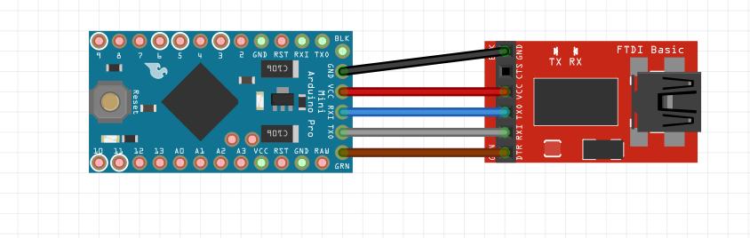Picture of Programming Arduino Pro Mini (3.3V) Using FTDI  FT232RL