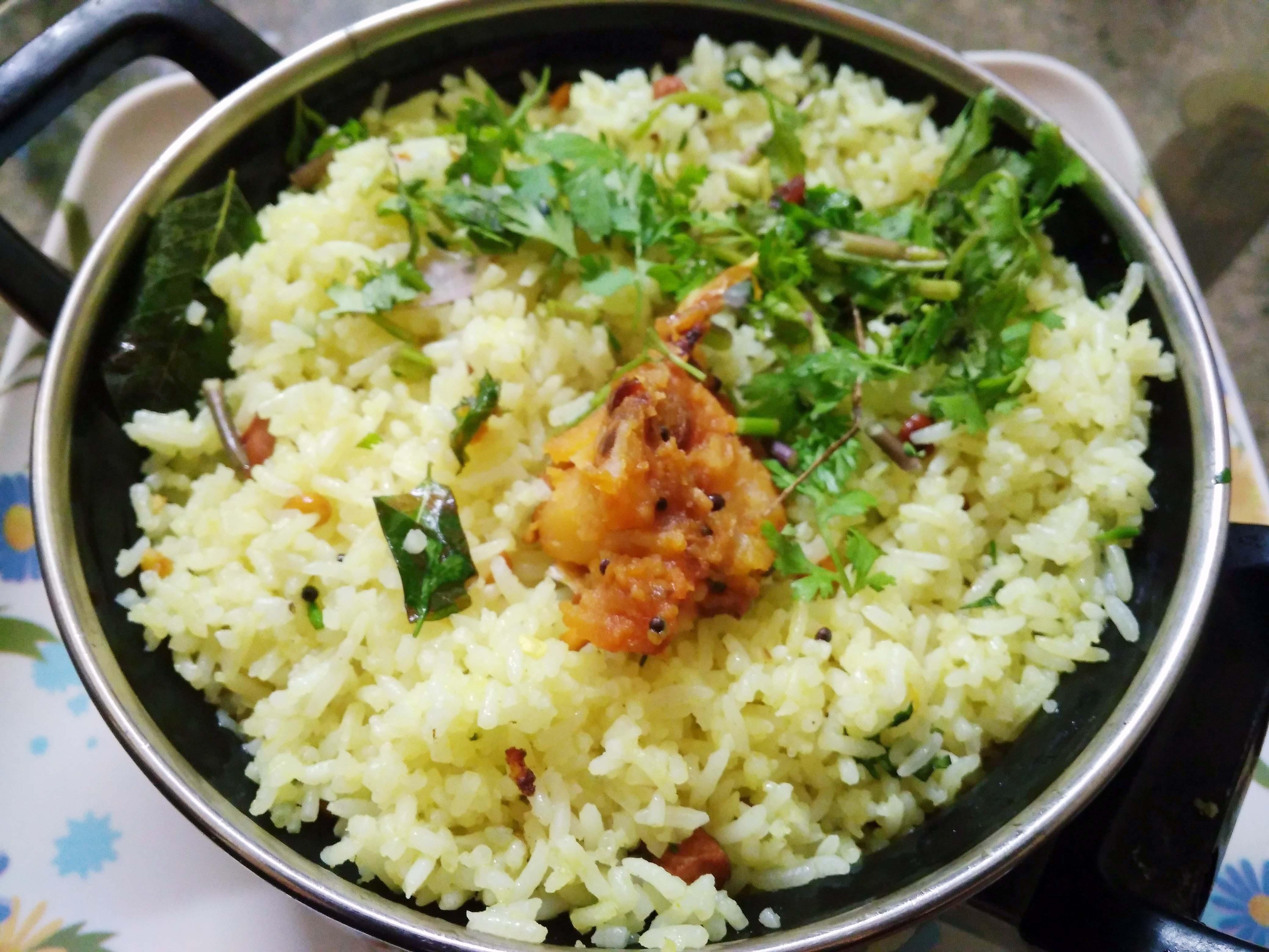 Picture of Puli Saadham (Tamarind Rice)
