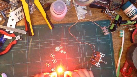 Testing the LEDs