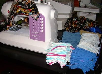 Sew on T-shirt Strips