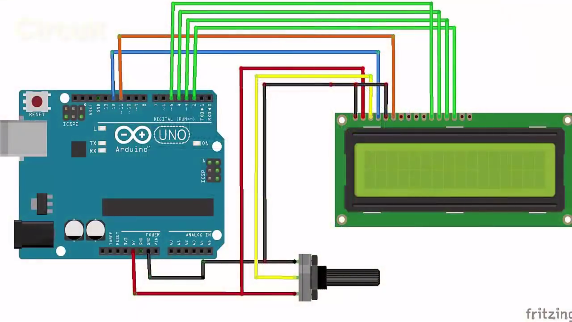 Picture of Circuit & Connections