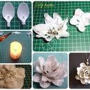Plastic spoon flower (DIY)