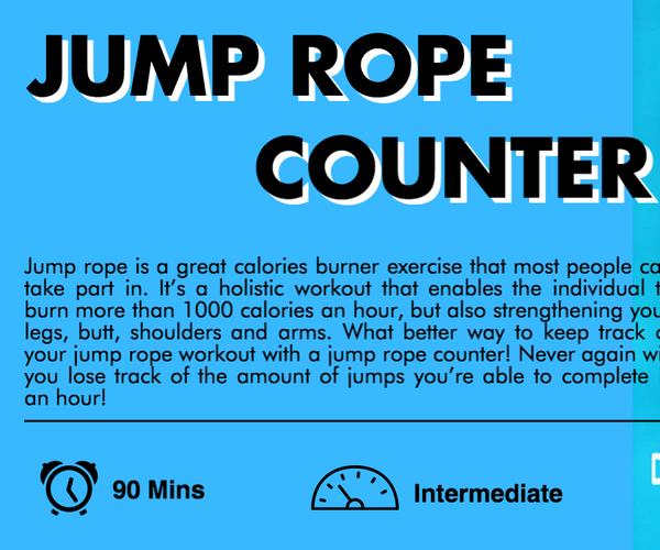 Micro:bit Jump Rope Counter