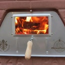 How to light the fire - Fast method How To Start a Fire wood fired oven stove and chimney