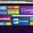 Setting up and editing a Windows 8-like home page for a web browser (Outdated)