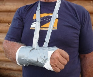 DIY Soft Cast Using Duct Tape