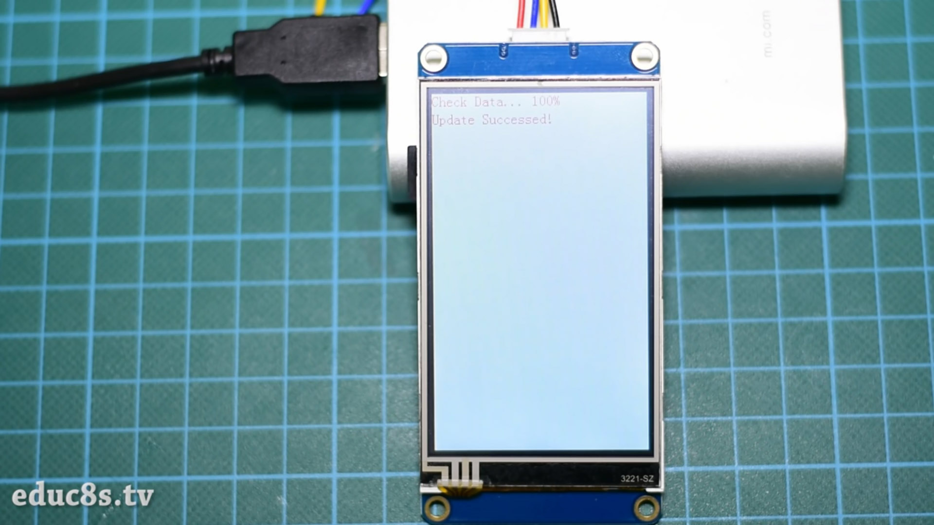 Picture of How to Run Code on a Nextion Display