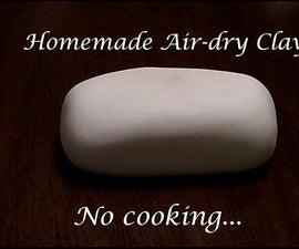 DIY Air-Dry Clay