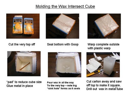 Molding the Wax Intersect Cube