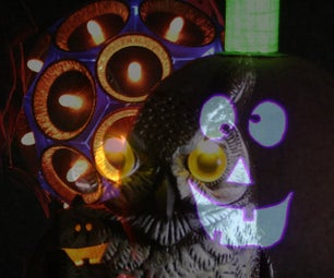 LED Owl and 5 LED Pumpkins Sing Raffi