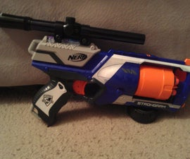Mounting A Scope On A Nerf Strongarm