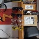 Easy Safety Glasses Storage