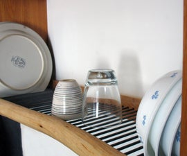 Over-the-sink dishrack