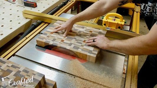 Flatten End Grain Cutting Boards