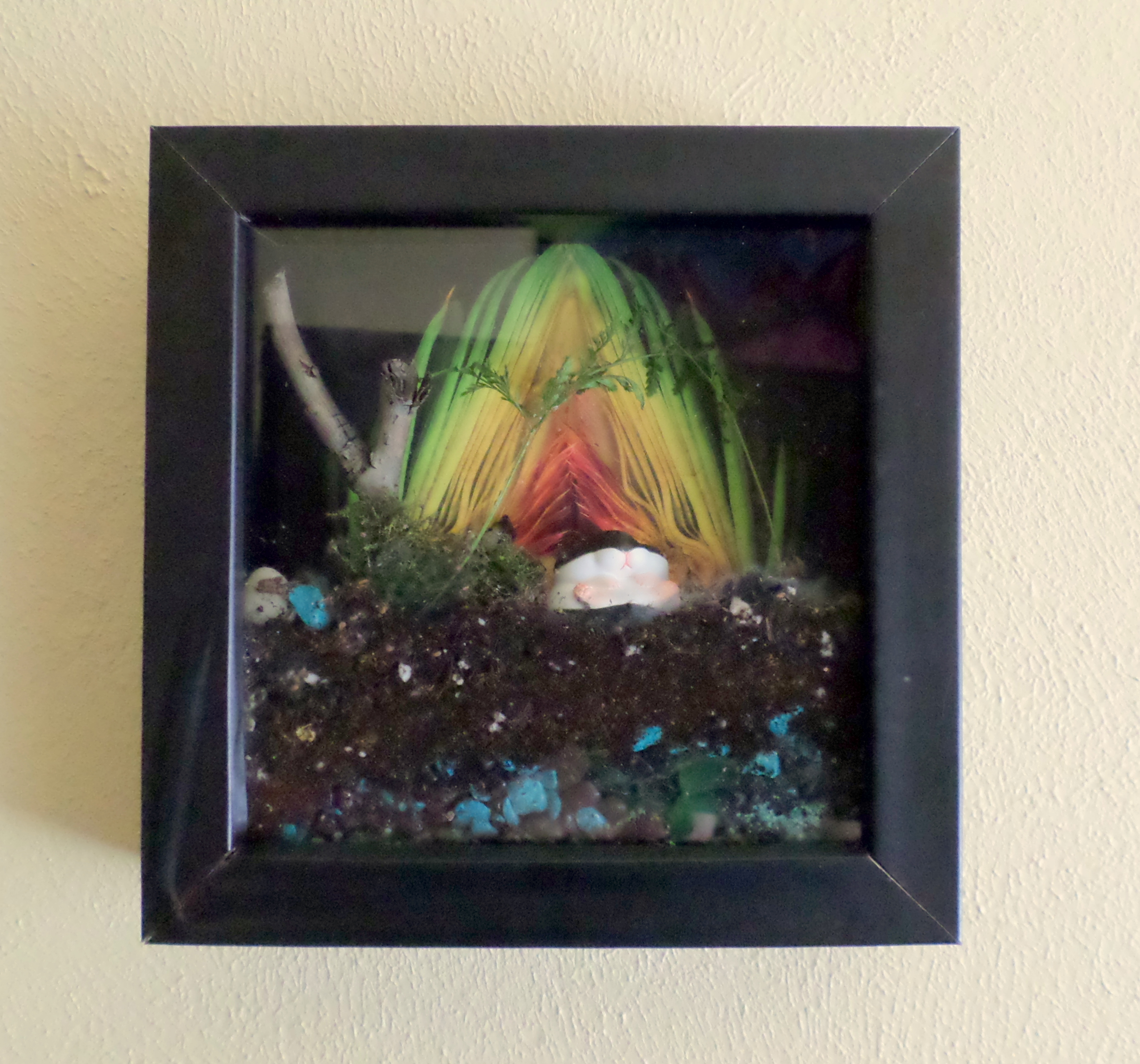 Picture of Hanging the Picture Frame Terrarium