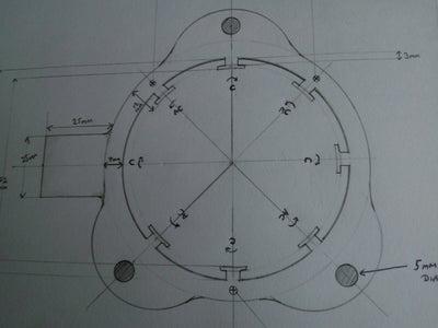 Setting Up the Inner Core and Deuterium-Tritiun Fusion Rods