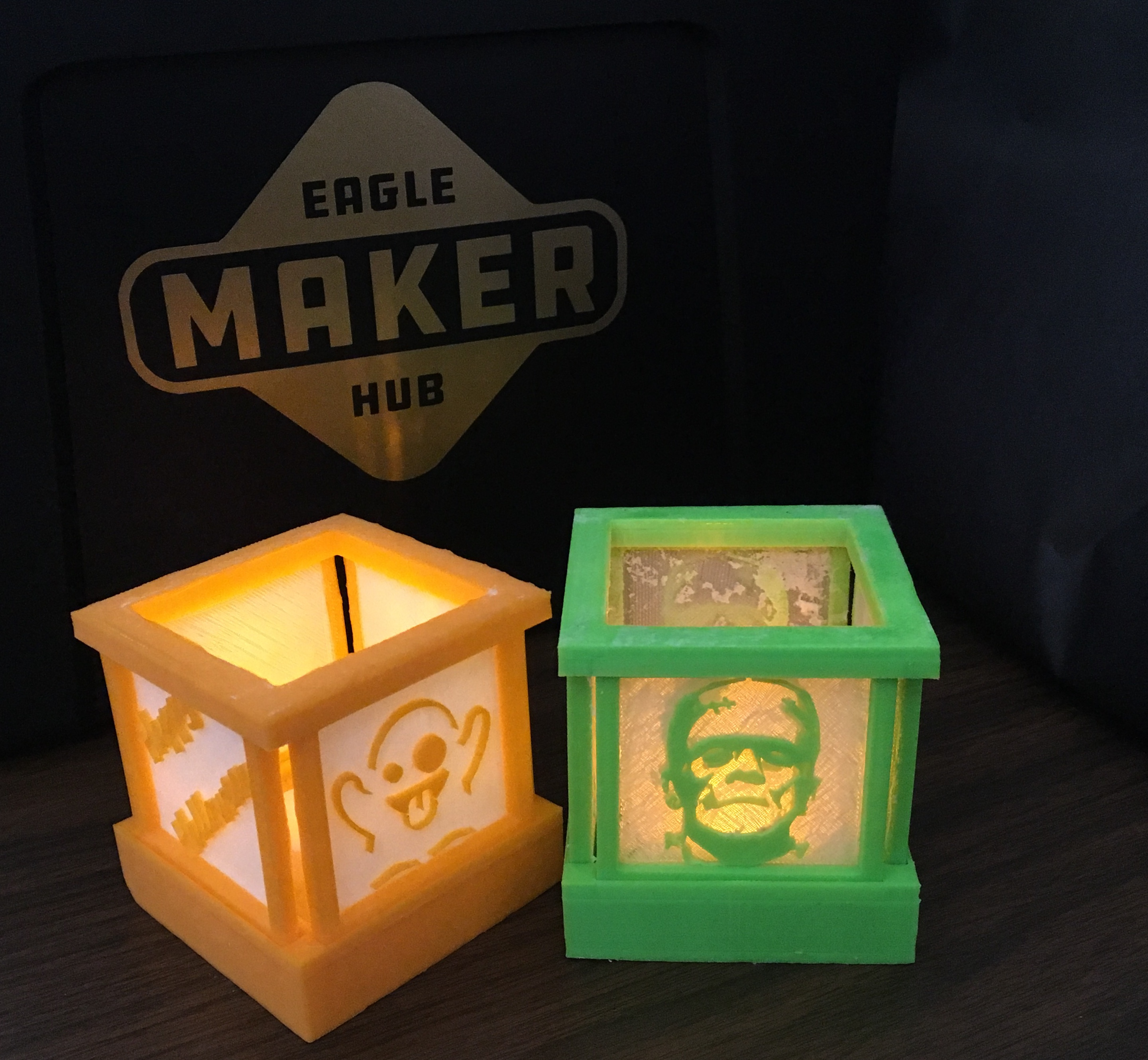 Picture of 2D to 3D Tealight Holder