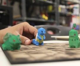 3D Printed Pokemon`s
