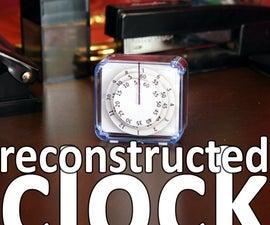 reconstructed clock