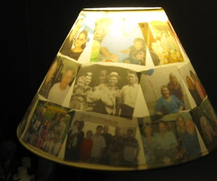 PHOTO GALLERY LAMPSHADE