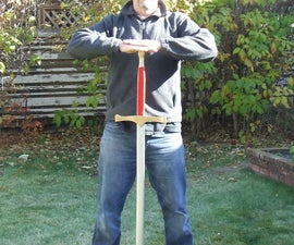 Wooden Prop Sword