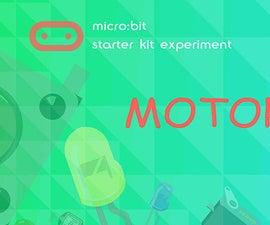 Micro:bit Experiment 10: Motor —— Elecfreaks Mirco: Bit Starter Kit Course