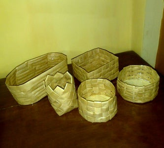 DIY Paper Baskets