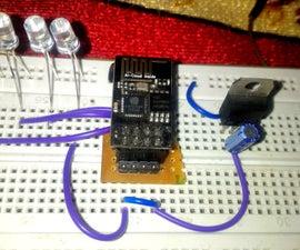 ESP8266-01 LED Control