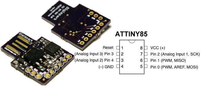 Picture of Digispark DIY: the Smallest USB Arduino