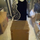 Cardboard Boxes Chair