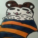 How To Draw A Hampster Sleeping