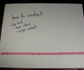 How to crochet - 1